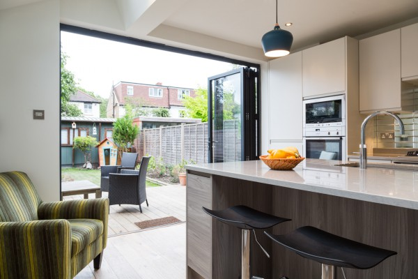 Simply Extend London home extension blog bi-fold doors