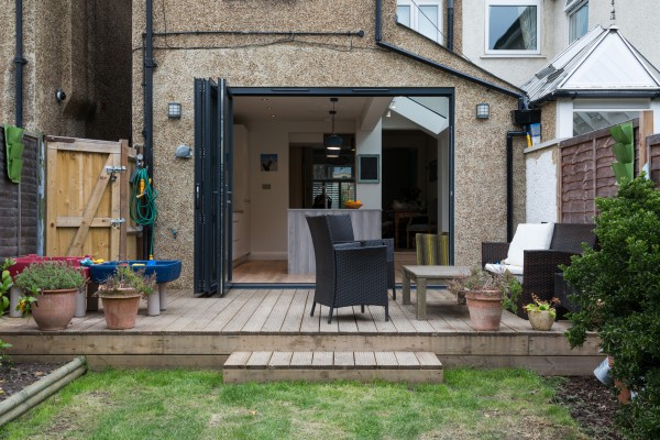 Simply Extend side return extension kitchen home London garden