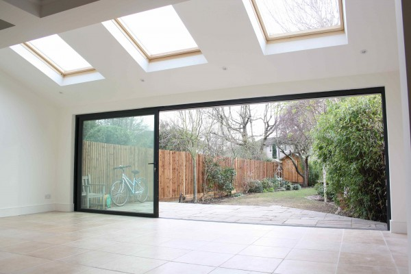 Simply Extend London home extension kitchen extension underfloor heating