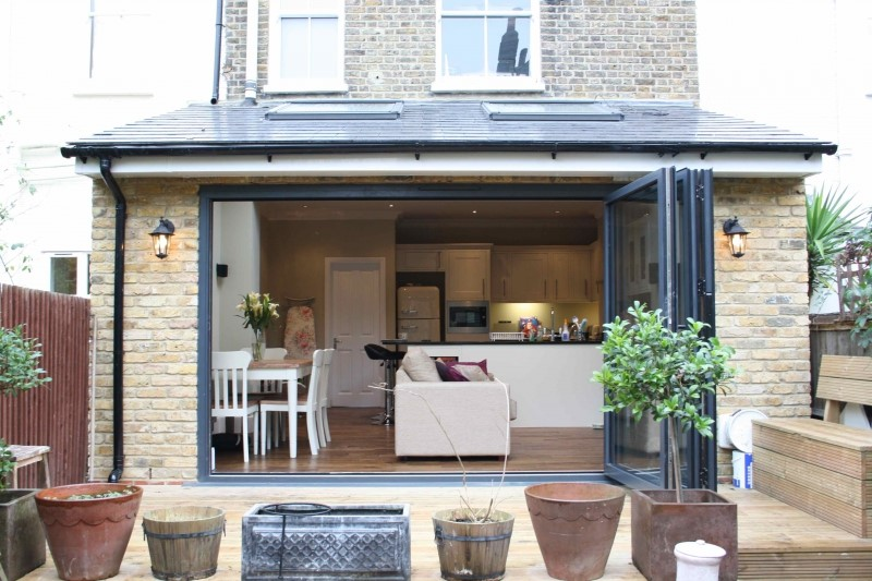 Rear kitchen extension