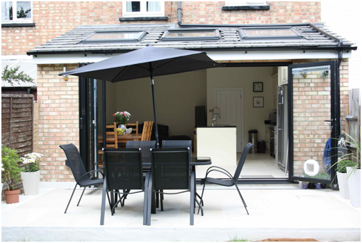 Simply Extend London home extension pitched roof