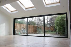 home extension underfloor heating