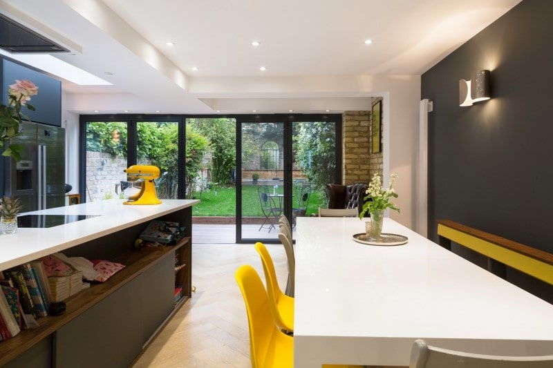 Contemporary And Design Led, This Islington Property Has Been Brought Into  The 21st Century With A Wrap Around Extension Including A Flat Roof Side  Return ...