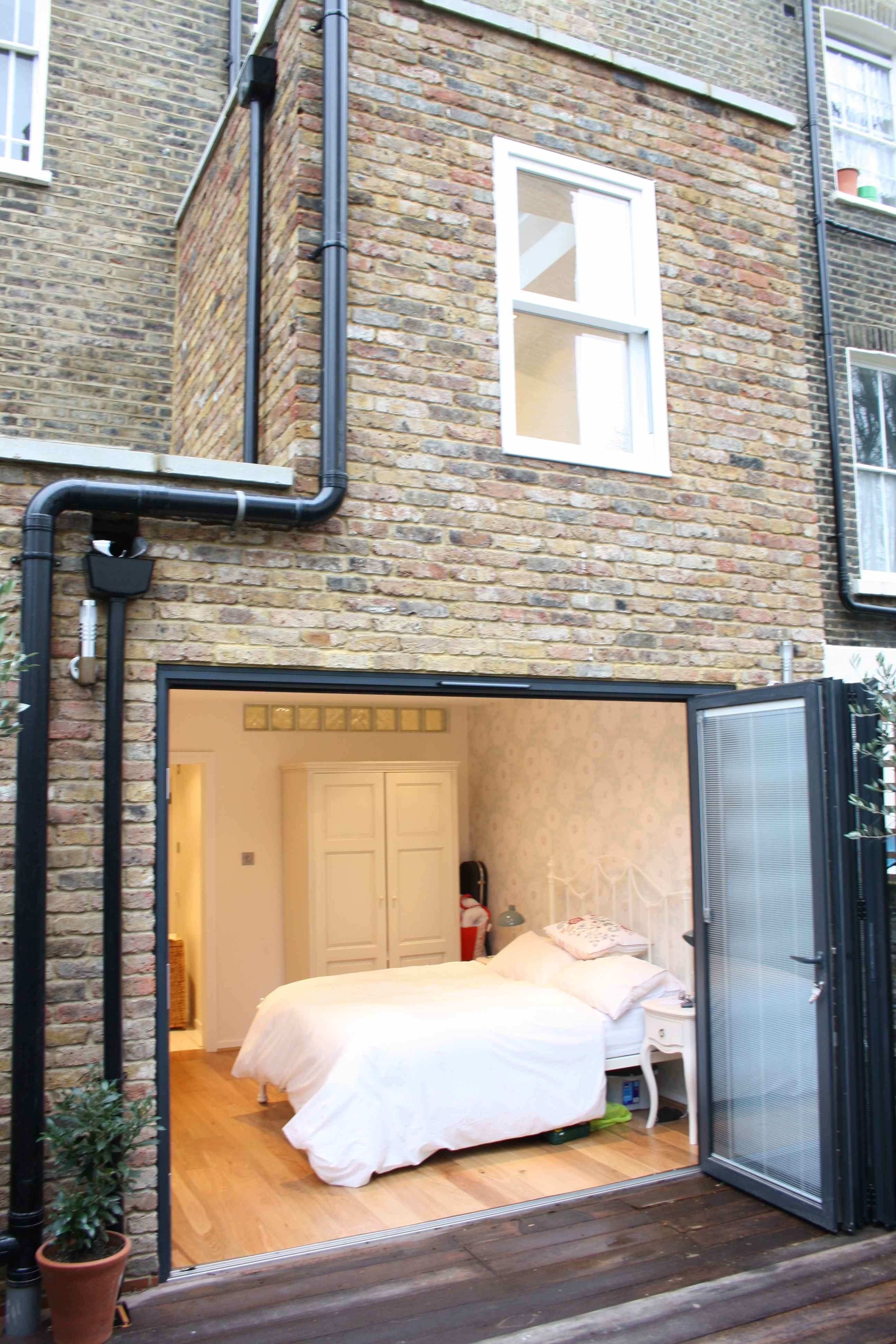 A home extension in London could be used to create a completely new flat.