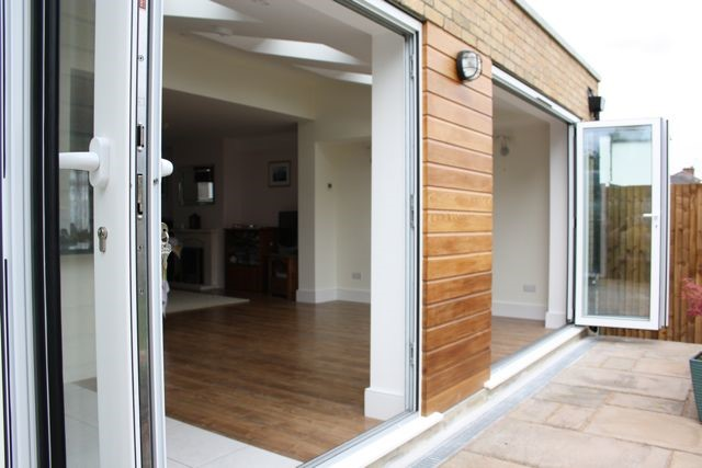 timber cladding extension
